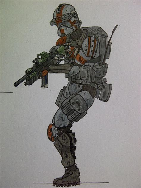 Shocker Is Own Fan by Clone Shock Trooper By Halonut117 On Deviantart