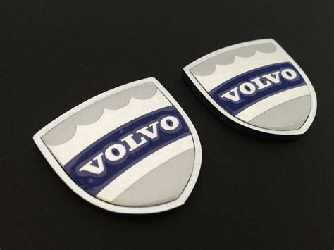 pcs auto car emblem badge decal window side sticker  volvo  xc   ebay
