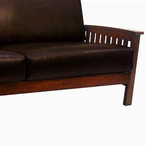 Leather Mission Sofa by Living Room Furniture Mission Furniture Craftsman