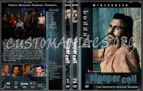 Sleeper Cell Free by Sleeper Cell Dvd Cover Dvd Covers Labels By