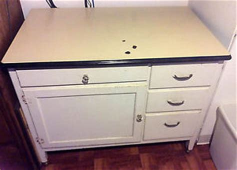 vintage porcelain top kitchen cabinet painted ebay antique vintage porcelain top kitchen cabinet early 1900s