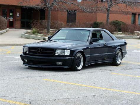 1988 mercedes 560sec 6 0 amg widebody german cars