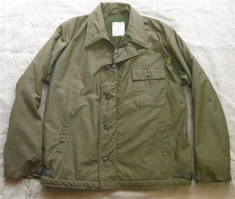Jaket Army Bb U S Navy Jacket Cold Weather Permeable A 2 Deck Jacket