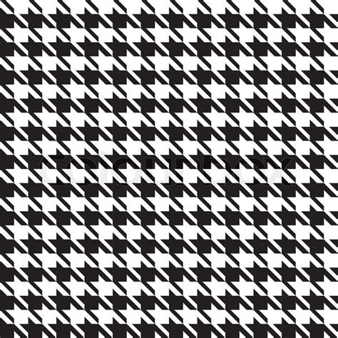 houndstooth template houndstooth seamless pattern stock vector colourbox