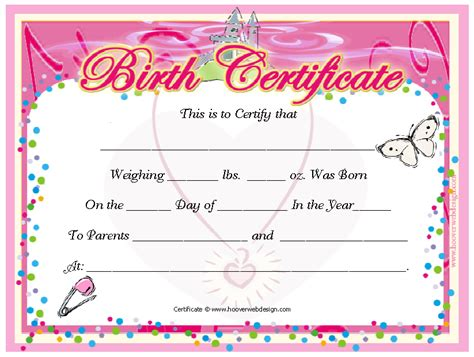 14 Free Birth Certificate Templates Ms Word Pdfs Templatehub Birth Certificate Template For Microsoft Word