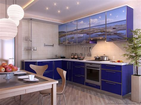 blue kitchen ideas modern blue kitchen cabinets pictures design ideas