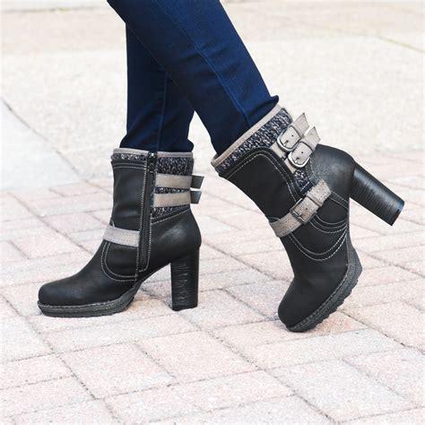 mariah boot muk luks 174 women s mariah boots black slippers