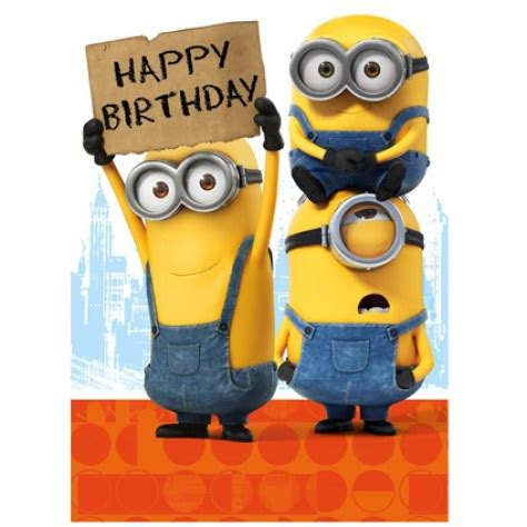 Minion Gift Card - 20 happy birthday minion cards holidays and observances