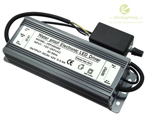 Led Driver ip67 waterproof 150w dimmable led driver 30 42v 0 3 5a lighting transformers kiwi lighting