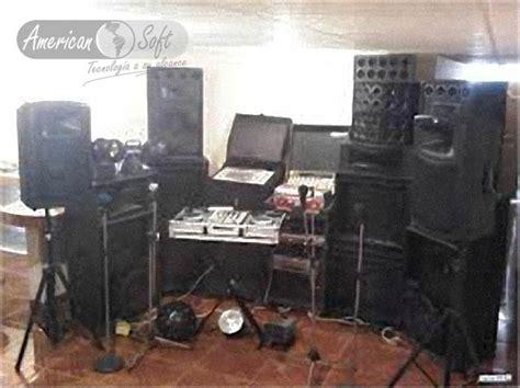 banco de sonido ministerio alquiler de equipos de sonido american soft