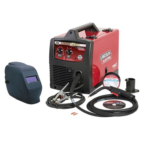 lincoln electric weld pak 125hd wire feed welder with