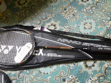 Raket Badminton Yonex Senar Tas Untuk Pemula 1 grosir shuttlecock