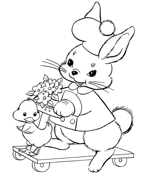 duck rabbit coloring page 70 animal colouring pages free download print free