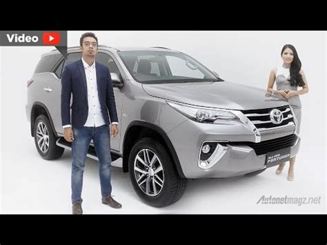 new fortuner 2016 youtube 2016 toyota fortuner body kit 2016 toyota video toyota all new fortuner 2016 indonesia youtube