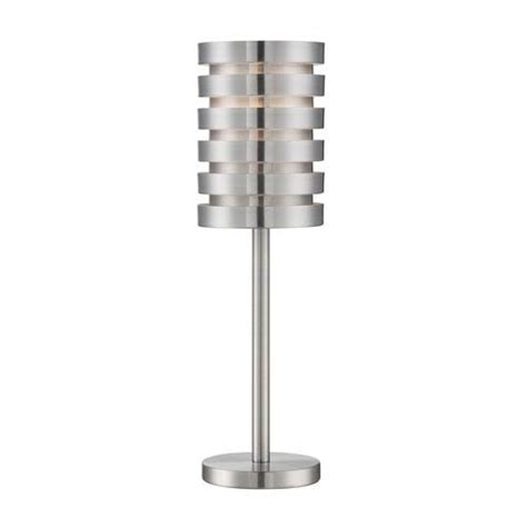 24 Table Ls Tendrill Ii Aluminum 24 Inch One Light Table L Lite