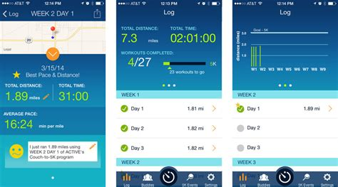couch to 5k app iphone the best fitness apps for at home workouts or at the gym