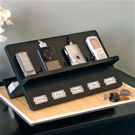 home cell phone charging station diy charging station in nightstand banish clutter