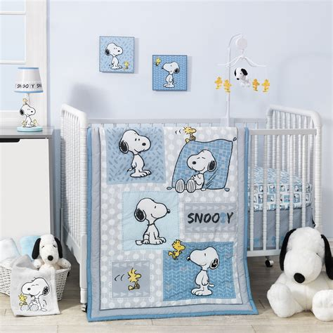 snoopy crib bedding forever snoopy 3 crib bedding set lambs
