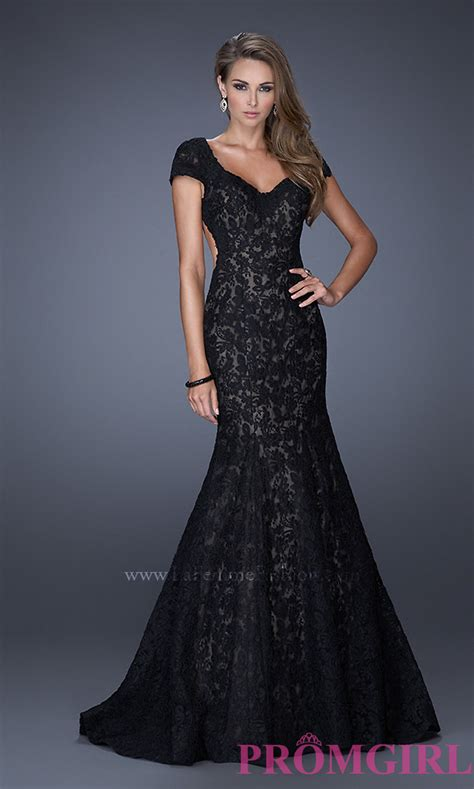 lace mermaid evening gown lace mermaid gown by la femme 20117