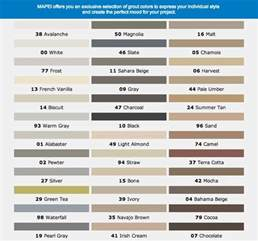 grout color chart mapei sanded grout color chart car interior design