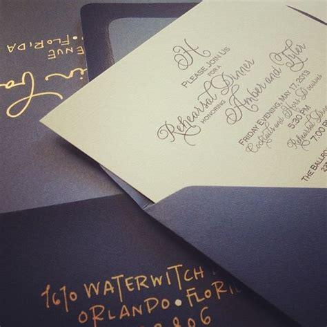 seafoam green and gold wedding invitations beautiful navy gold wedding invitations by chelsea of