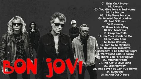 bon jovi best songs best songs of bon jovi bon jovi greatest hits album