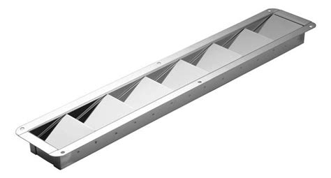 Swivl Eze Boat Pedestal Narrow Stainless Steel Louvered Vents Attwood Marine