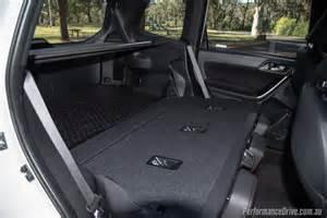 Subaru Forester Cargo Space 2016 Subaru Forester Ts Sti Review Performancedrive