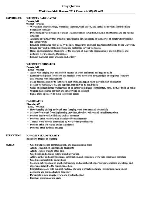 aluminum tig welder sle resume regional administrator