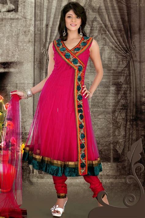 Shalwar Kamaaz Baju India angrakha designs embroidered shalwar kameez suits 2015