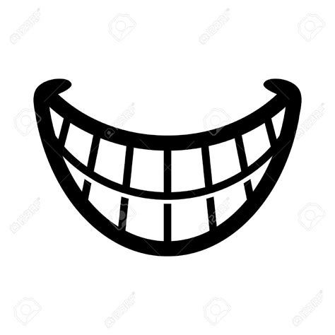 Smile Clipart Smiling Teeth Clipart Clipground