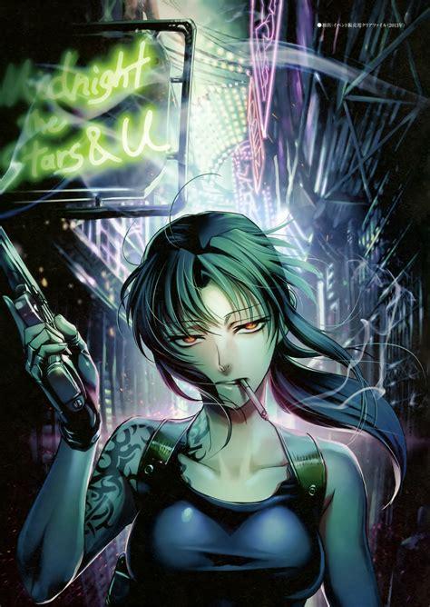 revy black lagoon zerochan anime image board