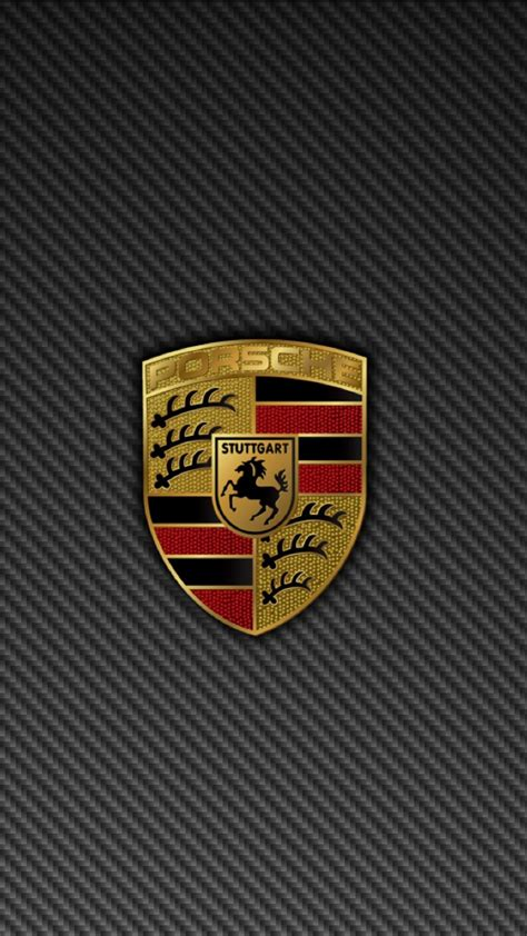Porsche Logo Background Porsche Logo Grey Background Iphone 6 Plus Hd Wallpaper