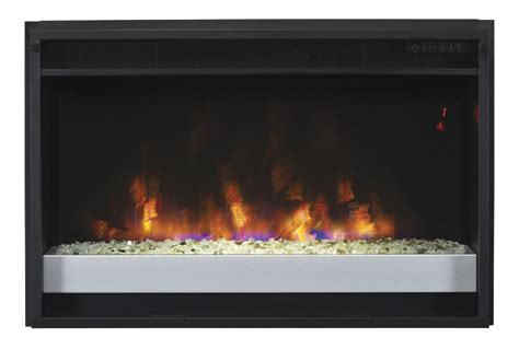 26 electric fireplace insert 26 quot spectrafire contemporary electric fireplace insert