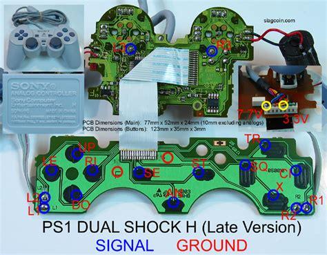 Stik Joystick Gamepad Stik Turbo K One Wired Kabel 8072 Gold joystick controller pcb and wiring