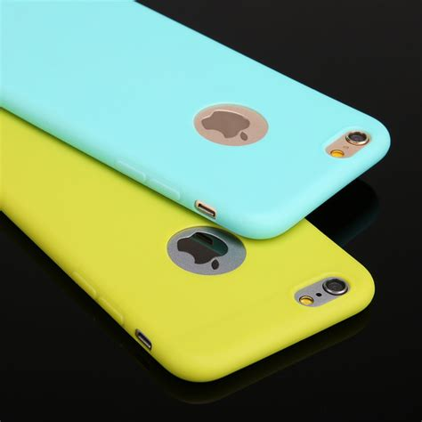 Silikon Iphone 6 4 7 colors soft tpu silicon phone cases for iphone 6 4 7