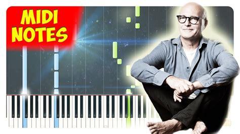 tutorial piano divenire ludovico einaudi divenire piano tutorial piano sheets