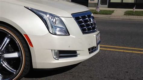 Cadillac Xts On 24s by 2013 Cadillac Xts On 24s And Vogues