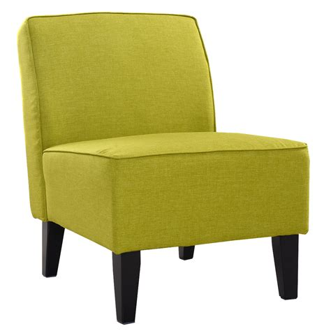 Armless Accent Chairs Living Room by Deco Accent Chair Solid Armless Living Room Bedroom Office