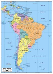 map of america states and cities maps of south america and south american countries