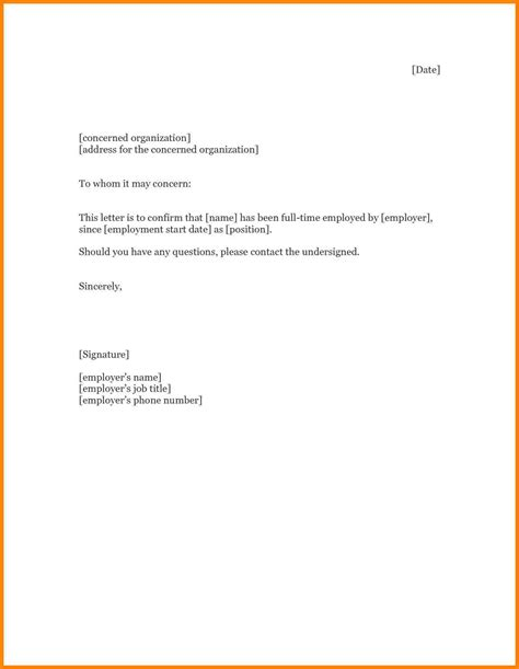 Rent Employment Letter 8 Rental Verification Letter From Landlord Farmer Resume