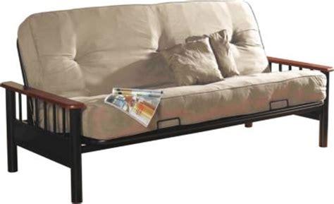 primo futon primo international bismark cobblestone microfiber futon
