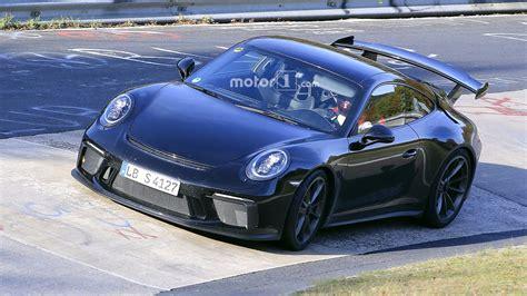 Porsche Gt4rs by 2017 Porsche 911 Gt3 Is Not To Show Discreet Facelift