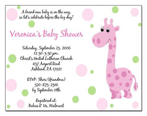 baby shower invitation card template baby shower invitation baby shower invitations templates