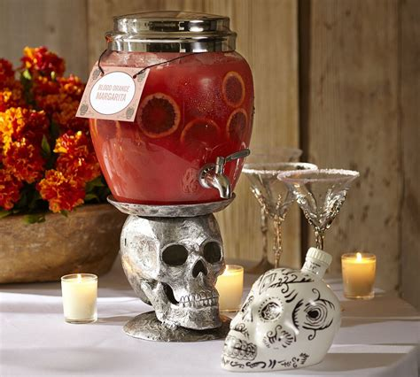 halloween drink dispenser pottery barn halloween 2013