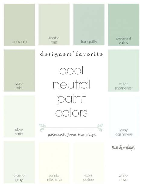 neutral colors list 100 neutral paint colors from behr warm neutral