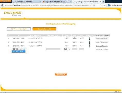 test porte test porte router fastweb semplice e comfort in una casa