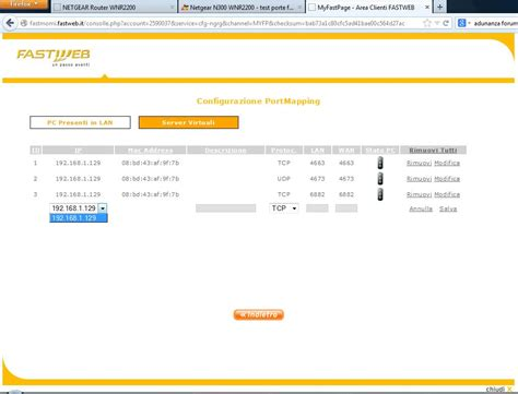 test porte emule fallito netgear n300 wnr2200 test porte fallito banda larga