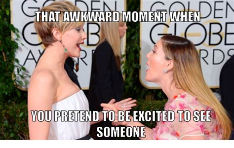 Memes Of 2014 - golden globes 2014 meme jennifer lawrence drew barrymore