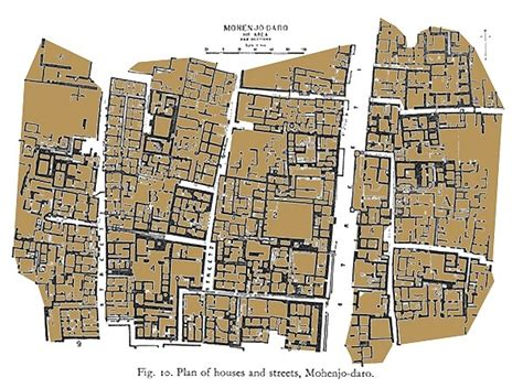 grid pattern of streets why were streets created in grid patterns in mohenjodaro